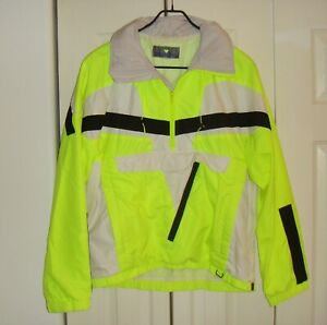 OBERMEYER  Unisex Hooded Ski Snow  +++ Sport Jacket Colorful  Yellow Size L/M