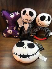 Nightmare Before Christmas Jack Skellington Squeak rope  dog toy lot of 4