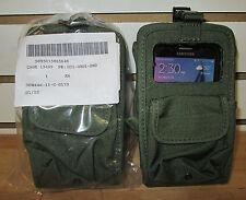 US ARMY CELL PHONE/GPS CASE Camo Green w/Pocket NSN:5895-01-586-5648 ~NEW~2 PCS.