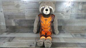 "Marvel's Guardians Of The Galaxy Rocket Raccoon 24"" Plush Pillow Buddy Toy Jumbo"