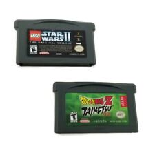 Dragon Ball Z Taiketsu & Lego Star Wars II Gameboy Advance Cart Only Tested