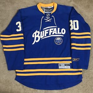 Reebok Ryan Miller Buffalo Sabres NHL Hockey Jersey Blue Alternate Third XL