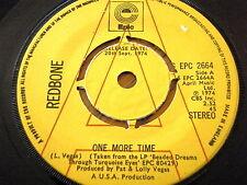 "REDBONE - ONE MORE TIME  7"" VINYL PROMO"
