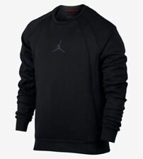 Mens Nike Jordan Flight Tech Crew Jumper Sweatshirt Size L (879495 010) Black