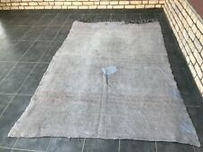 Antique Turkish Vintage Tribal Rug,Gray Hemp Rug,Traditional Vintage Rug