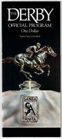 MISTER FRISKY IN 1990 SANTA ANITA PARK SANTA ANITA DERBY HORSE RACING PROGRAM!