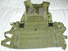 Olive Drab Full Clip Paintball MOLLE Vest