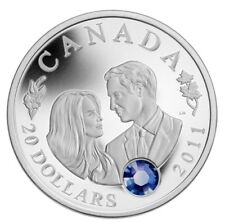 2011 Canada $20 Fine Silver Coin - Will & Kate - Royal Wedding