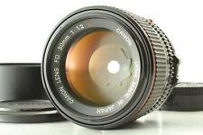 [MINT+++ w/ Hood] Canon NFD 50mm F/1.2 L Prime MF Lens From Japan #86
