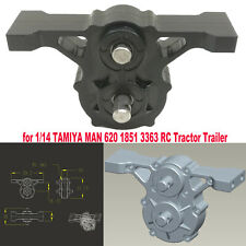 Alloy Transfer Case Gearbox for 1/14 TAMIYA MAN 620 1851 3363 RC Tractor Trailer