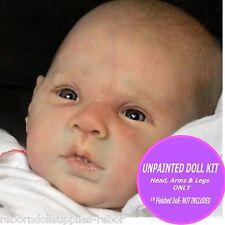 "GABRIEL Doll Kit ~ to make your own REBORN Baby ~ 20"" vinyl unpainted kit - cute"