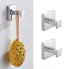 Bathroom Towel Hook Robe Coat Hooks Hanger Chrome Wall Mounted Stainless Steel