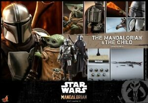 Hot Toys 1:6 TMS014 Star Wars The Mandalorian & The Child Collection Toy Presale
