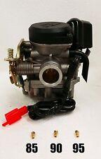 True 20mm CVK Performance Carburetor and 3 JETS - 139QMB Scooter Engine