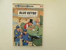 TUNIQUES BLEUES T18 BE/TBE BLUE RETRO