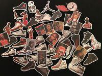 Air Jordan Basketball shoe Sticker Laptop Luggage Car Decal Logo Box skateboard