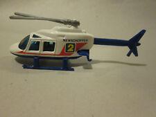 1988 Mattel Hot Wheels 1:64 Proper Chopper NewsChopper 2 Helicopter