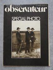 """""""Le Nouvel Observateur"""" Spécial photo N°1 de Juin 1977  (Depire)"""