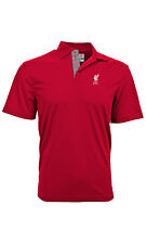 LIVERPOOL FC ADULT PREMIUM RED POLO SHIRT SMALL-XXL OFFICIALLY LICENSED