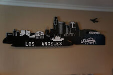 Original Art/ wood craft work - Los Angeles Skyline II