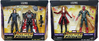 """Marvel Legends 6"""" MCU Falcon + Winter Soldier and Vision + Scarlet Witch 2 Packs"""