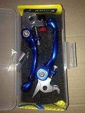 KTM  EXCF 400  EXC-F 400  2008-2012   FLEXI FLEXIBLE LEVER LEVERS SET BLUE
