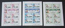 Zil Eloigne Sesel Seychelles 1981 Royal Wedding Sheetlets MNH UM unmounted mint