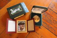 1996 ROYAL AUSTRALIAN MINT 1996 DON BRADMAN $5 PROOF COIN, SIGNED BY DON BRADMAN