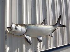 "57"" Tarpon Half Fish Mount Replica"