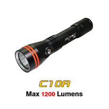 Archon C10R LED 1200 Lumens USB Rechargeable Underwater Diving Flashlight Torch
