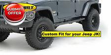SmittyBilt Sure Steps Black Side Bars for 07-18 Jeep Wrangler Unlimited 4 door