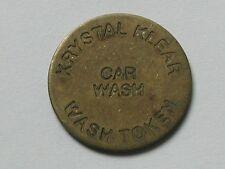 Vintage Winnipeg Manitoba CANADA Krystal Klear (Pembina Hwy Esso) Car Wash Token