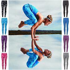Ladies Running Leggings Pattern Yoga Pants Womens Jogging Gym Fitness Pilates