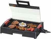 grille viande / grille table BBQ Steba VG 120 avec couvercle verre lire annonce