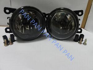 Pair Front bumper Fog Light lamp for Mitsubishi Outlander ZG Triton ML Pajero