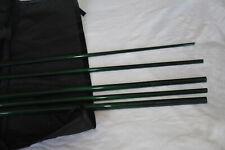 Im6 9ft 5/6wt 6 Sections travel Fly Rod Blank (Translucent Dark Green)