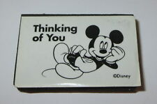 Thinking of You Rubber Stamp Mickey Mouse Disney Foam Mounted Character