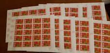 #2720 Chinese Lunar New Year Rooster Pane of 20 Lot of 10 sheets at Face