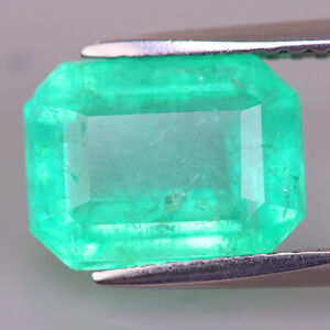 3.04cts COLOMBIA MUZO! Natural Colombia Emerald Exceptional Fire&Luster10x8mm