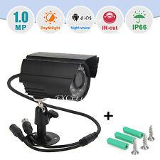 HD 720P Outdoor Waterproof Security Night Vision IR Network IP Wired Camera