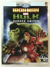 Iron Man  Hulk: Heroes United (DVD, 2013) No Bluray No Digital Code