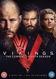 VIKINGS COMPLETE FOURTH SEASON 4 DVD REGION 4