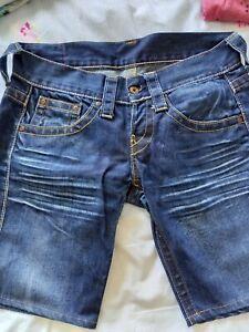 Replay jeans damen 29, kurze Jeans