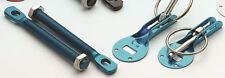 Alloy Motorsport Bonnet Pins Fastners Kit BLUE Colour