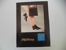 advertising Pubblicità 1972 MELLUSO