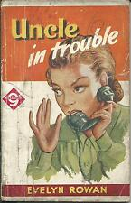 Uncle in Trouble Evelyn Rowan  Piccadilly Fiction House pulp 1940s vintage pb
