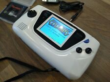 Excellent White Sega Game Gear New Dimmable LCD Screen fitted SEE VIDEO,