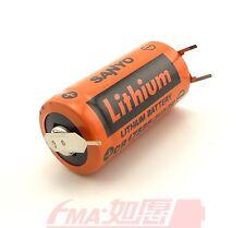 2Pcs SANYO CR17335 3V PLC Battery W/3P tabs Replace for Repair Saab+1P-2P