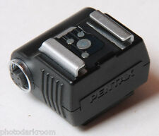 Pentax Hot Shoe Adapter with 5-Pin Dedicated Synch Outlet -  USED V764