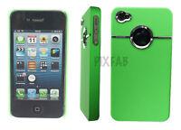 NEW STYLISH CHROME SERIES HARD BACK MOBILE CASE COVER FOR APPLE I PHONE 4 4G 4S